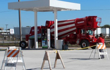 Ozinga Celebrates Grand Opening of Compressed Natural Gas Station in Gary