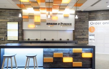 Amazon Opens its First Staffed Store, at Purdue