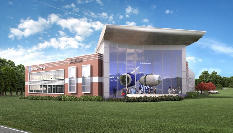 Rolls Royce Joins Purdue Research Aerospace District