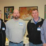Pictured are (l to r): Ron Lockwood, Paul Widawski, Jason Watts, Tim Bodley of Ziolkowski Construction.