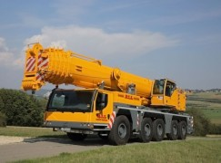 The ALL Family of Companies Adds Five New  Liebherr All-Terrain Cranes
