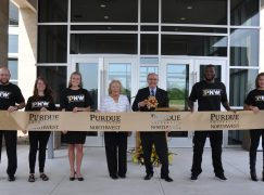 PNW Cuts Ribbon on New Student Center