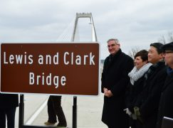 """Lewis and Clark Bridge"" Officially Opens"