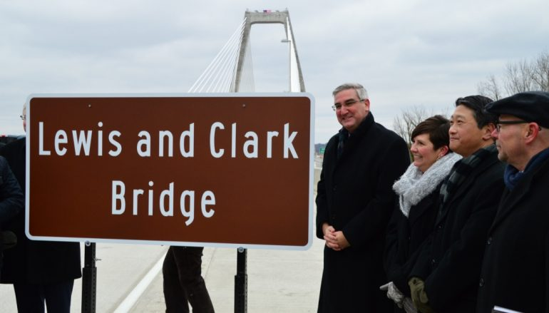 """""""Lewis and Clark Bridge"""" Officially Opens"""