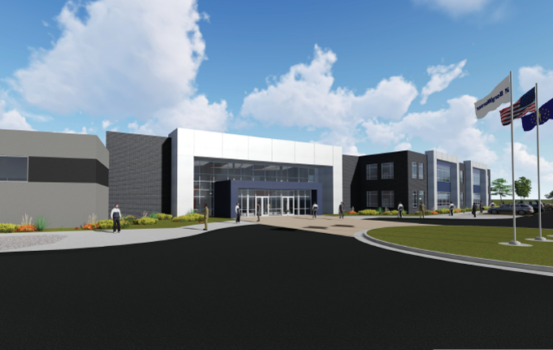 Ground Broken on $28M Technical Center