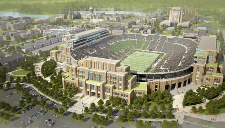 Notre Dame opens new facilities with a pair of free events