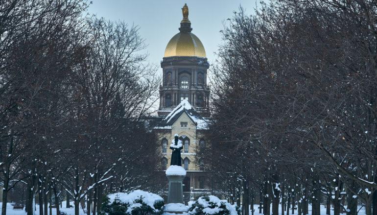 Notre Dame Names Associate VP Of New Business Development