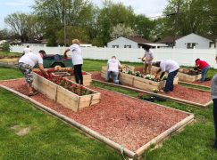 Fronius Volunteers at Portage Community Garden