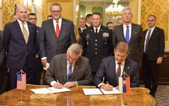 Indiana and Slovakia Form Partnership to Strengthen Economic, Defense Ties