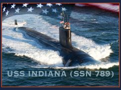 Attack Submarine USS Indiana Accepted by Navy