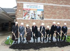Construction starts on Franciscan Beacon Hospital