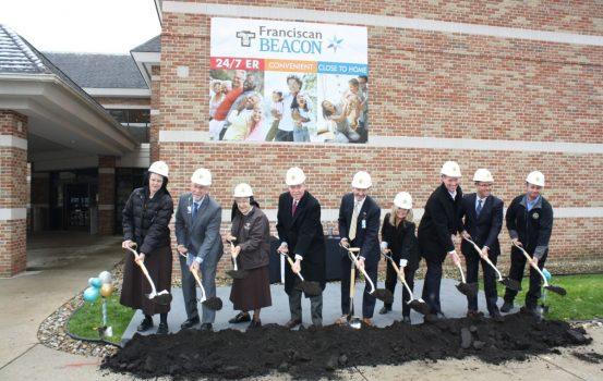 Construction starts on Franciscan Beacon Hospital