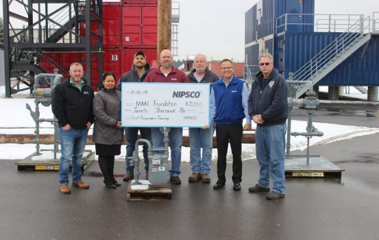 NIPSCO Donates $20K for First Responder Training