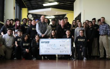 HAST Collaborates with NIPSCO to Build a School Greenhouse