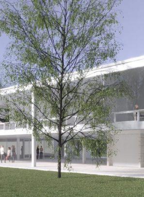 New Architecture School Building, 1950s Design