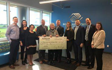 Horizon Bank Donates $10K to Legacy Foundation