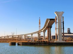 Cline Avenue Bridge is More Than Half Finished